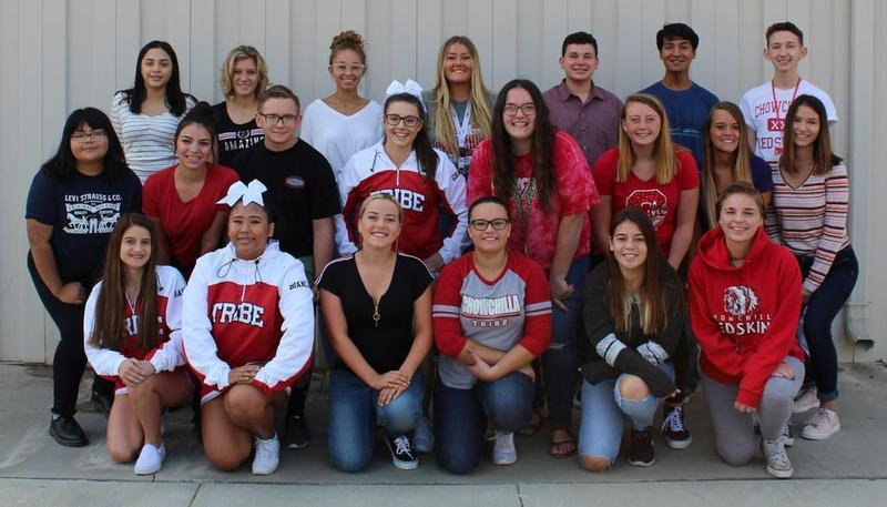 2018 Yearbook Staff