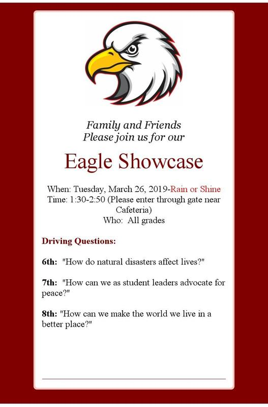 Eagle showcase