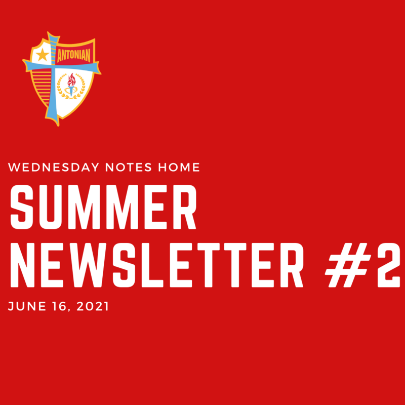 June 16 | Summer Newsletter #2 Featured Photo