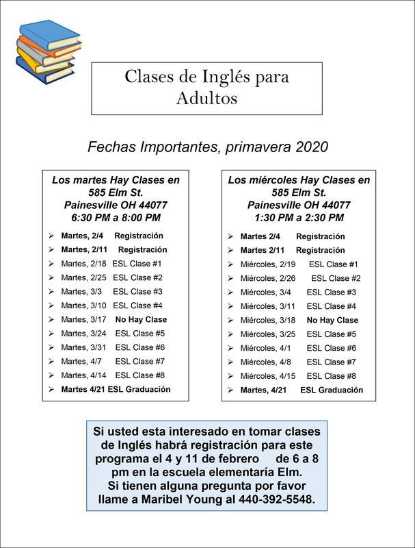 ESL Spring Schedule 2020 SPANISH.jpg