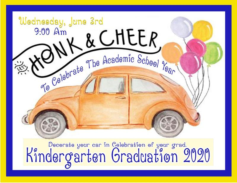 Kindergarten Graduation Honk And Cheer Thumbnail Image
