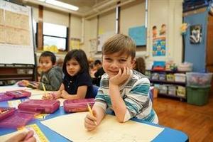 4k kids smiling