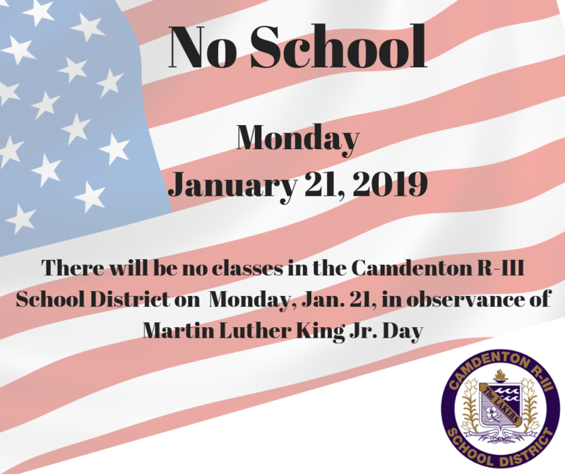 No School - Monday January 21, 2019 Featured Photo