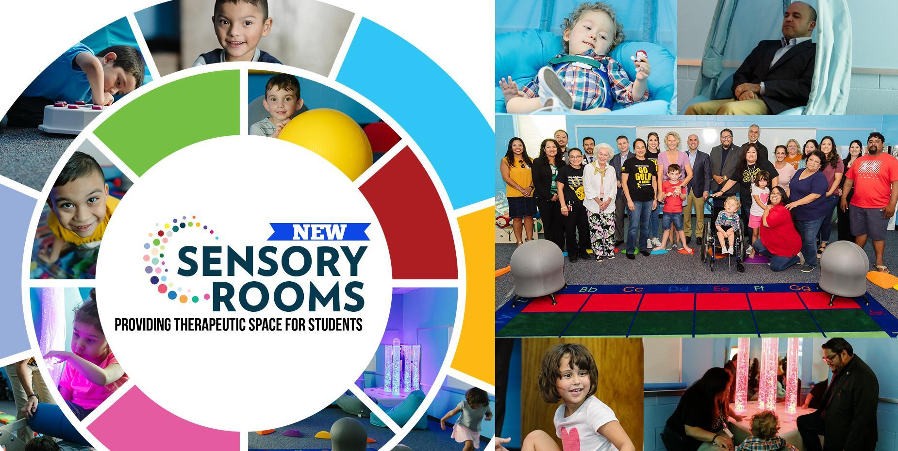 New Sensory Rooms providing therapeutic space for students