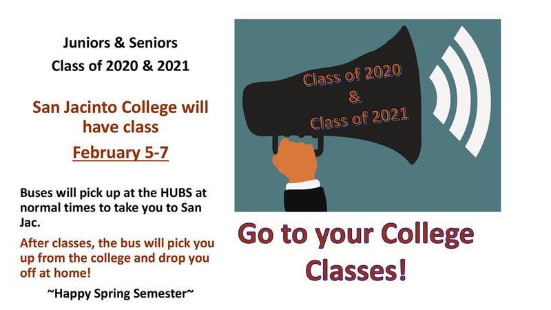 san_jacinto_college_reminder_classes_feb_5_thru_7_art