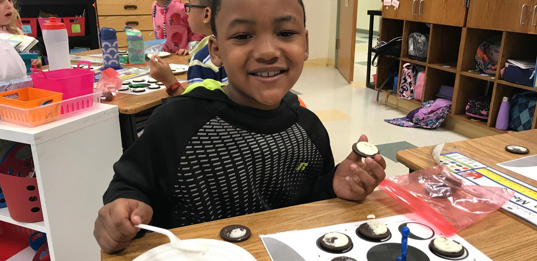 Student moon phase experiment