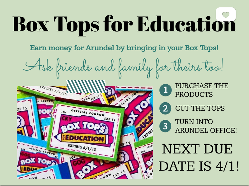 Boxtops Fundraiser Featured Photo
