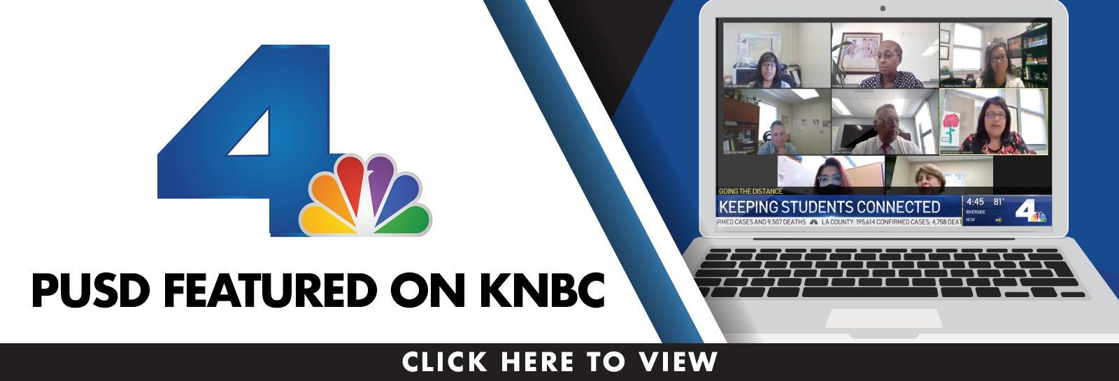 PUSD Featured on KNBC