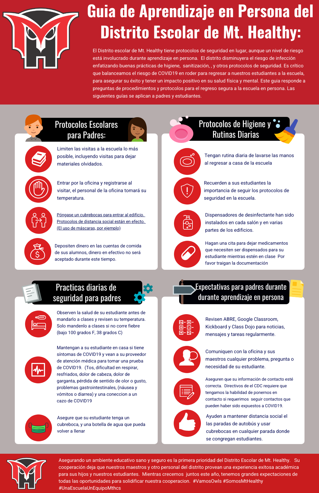 spanish inperson parent guide graphic