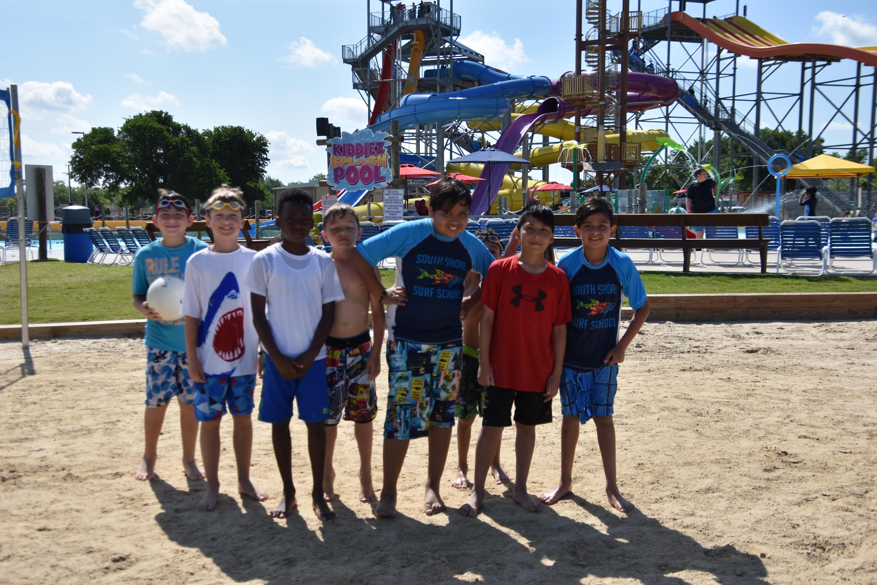 Third and fourth graders spent the day at Splash Dayz White Settlement for exemplifying outstanding behavior, attendance, effort and GRIT (Gumption, Resilience, Integrity and Tenacity).