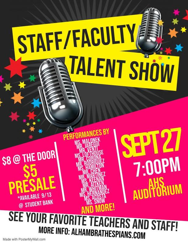 STAFF TALENT SHOW TO SHOWCASE ANOTHER SIDE! Featured Photo