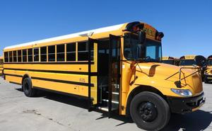 parked schools bus