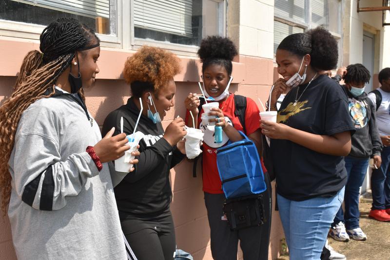 Natchez Freshman Academy Perfect Attendance Celebration