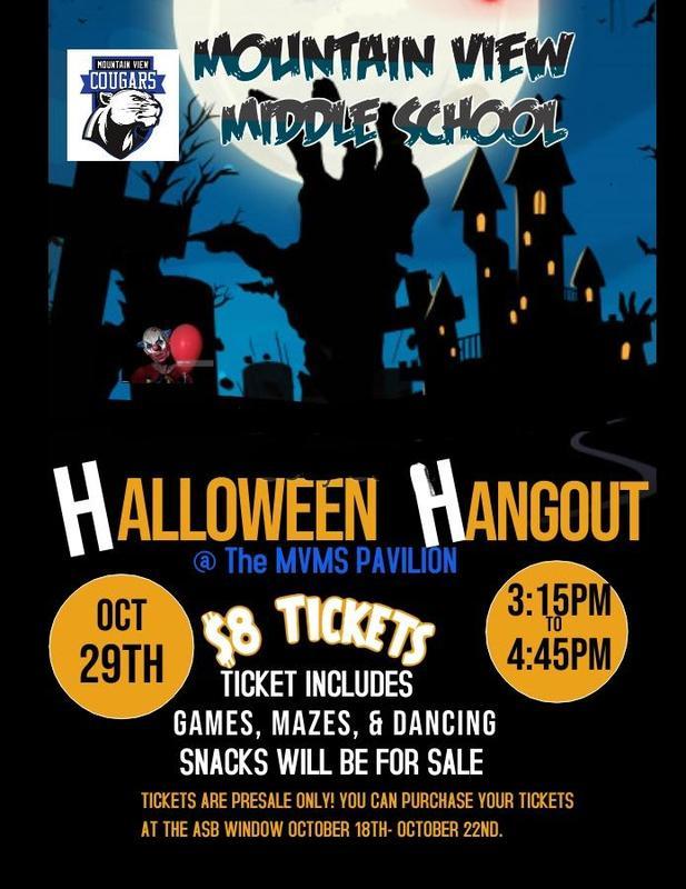 MVMS Cougars ASB- Halloween Hangout Dance Featured Photo