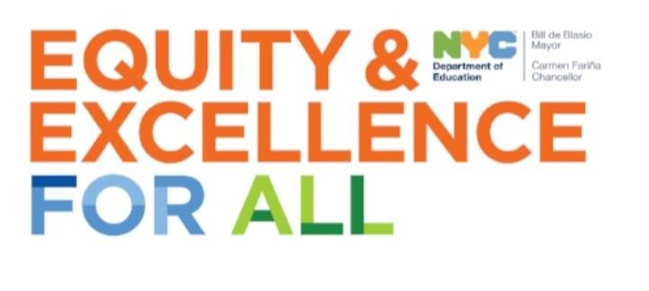 equity and excellence for all NYCDOE