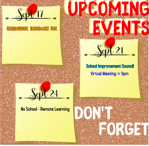 Deadlines and important dates to remember