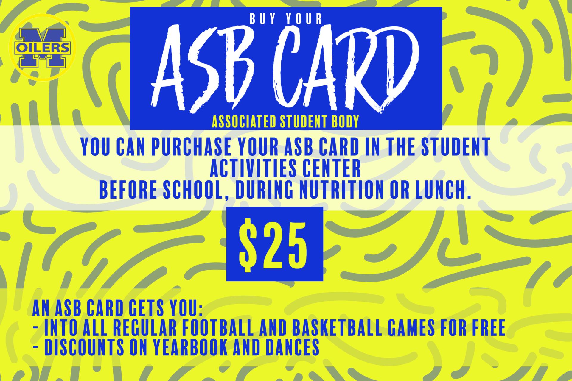 ASB Card Sales