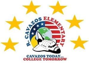 cavazos logo with 6 stars
