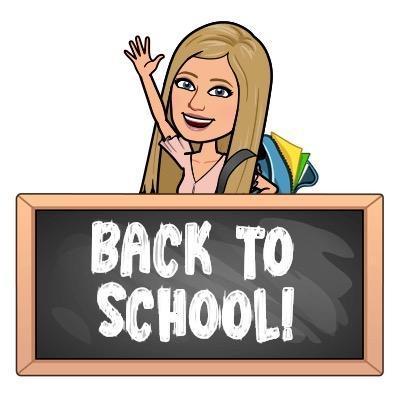 Bitmoji Back to School