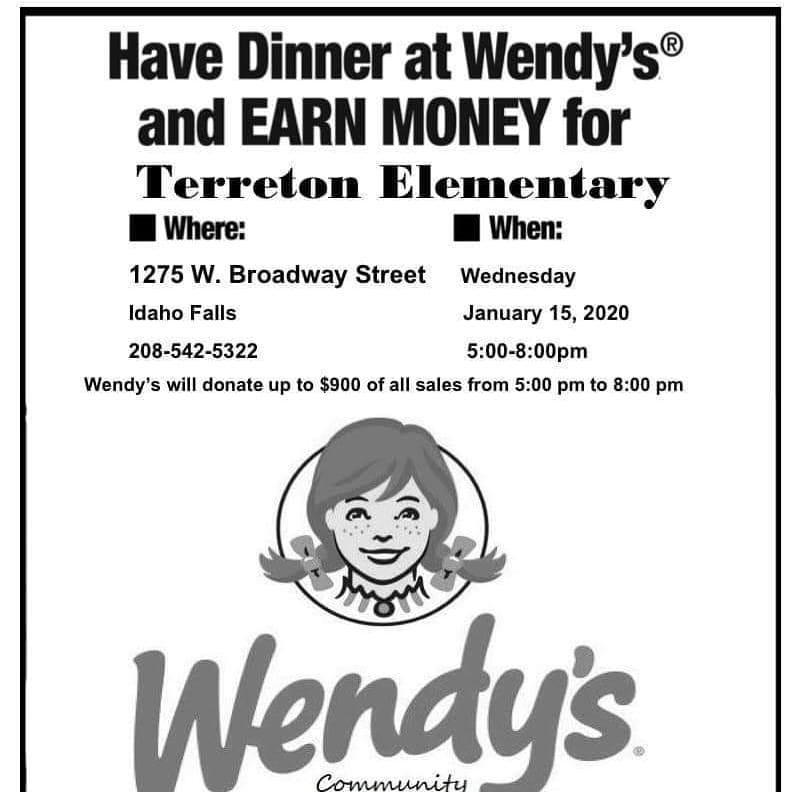 PTO Fundraiser at Wendy's