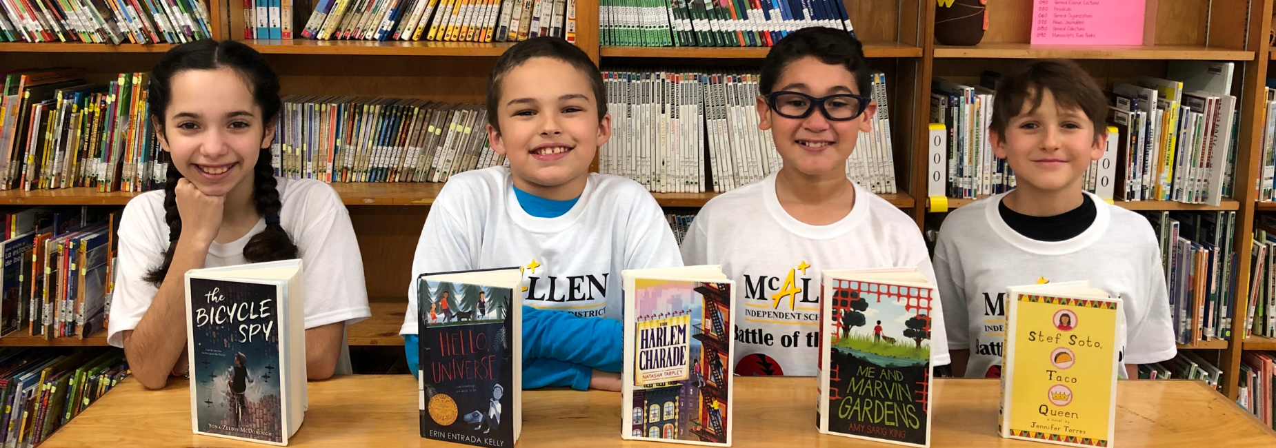 Milam Battle of the Books Team