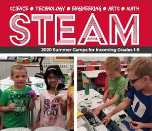 Cover of STEAM brochure