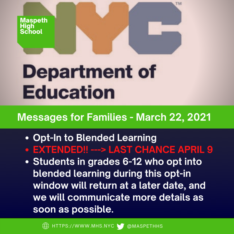 Opt-in to Blended Learning
