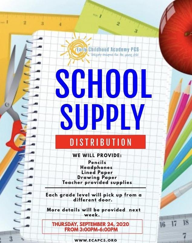 School Supply Distribution Featured Photo