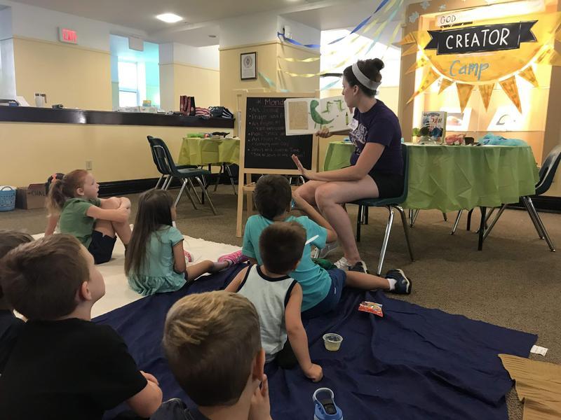 Teaching Children about God through Art: OLSH Creator Camp Featured Photo