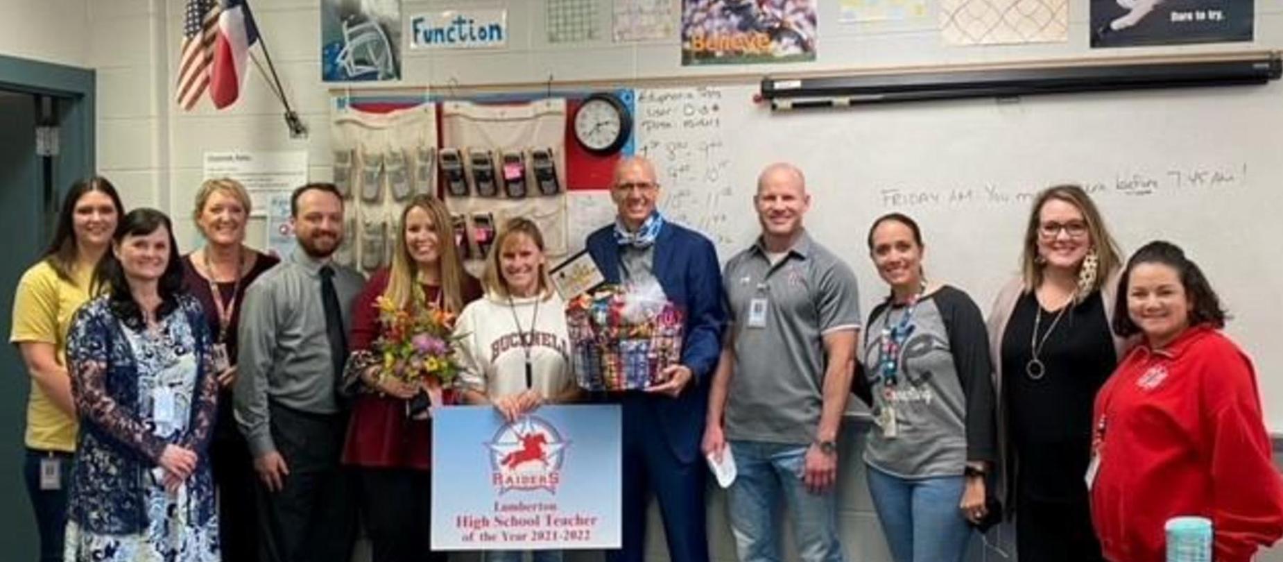 Lynn McLain - LHS Teacher of the Year