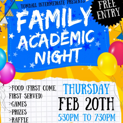 Family Academic Night