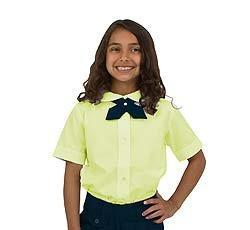yellow top and navy bottom unifrom