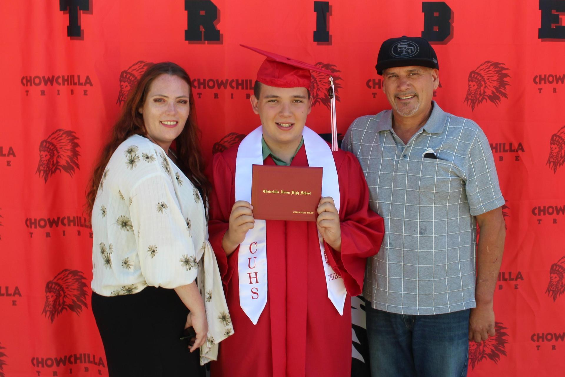 Joseph Birlew and family