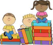 school books clip art