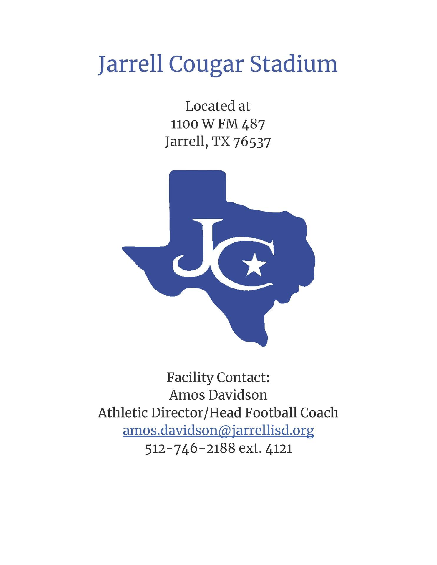 Jarrell Visitor Packet Page 1