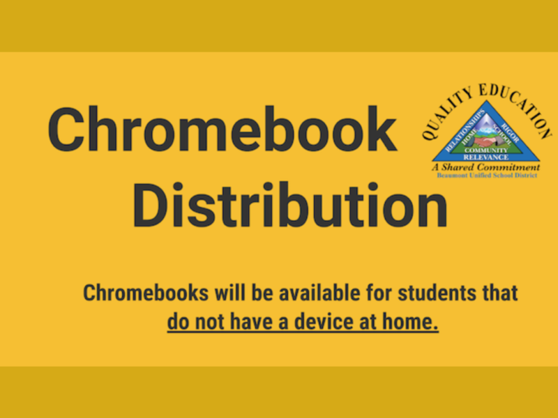 Chromebook Distribution Information