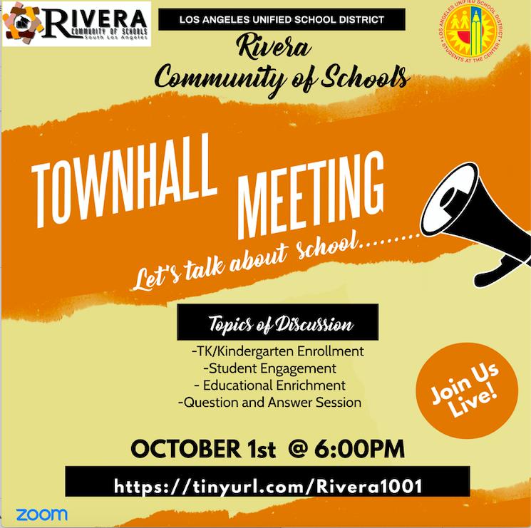 Rivera Community of Schools Webinar Thumbnail Image