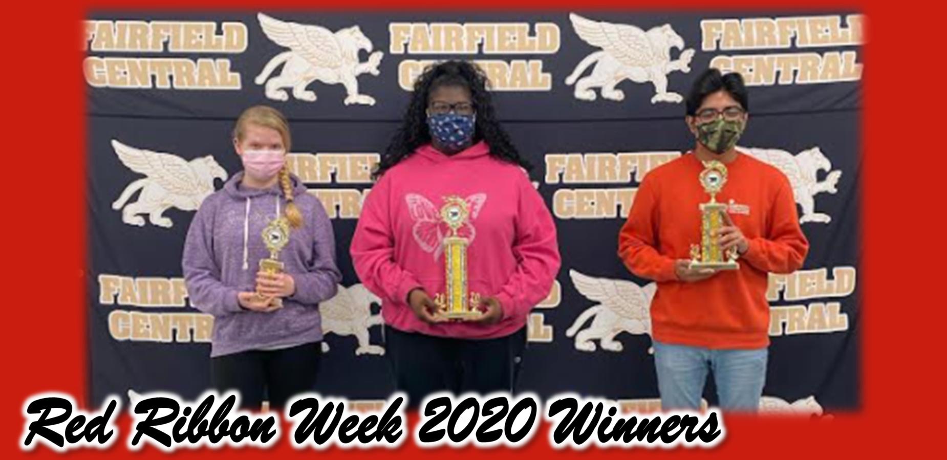 Red Ribbon Week 2020 Winners