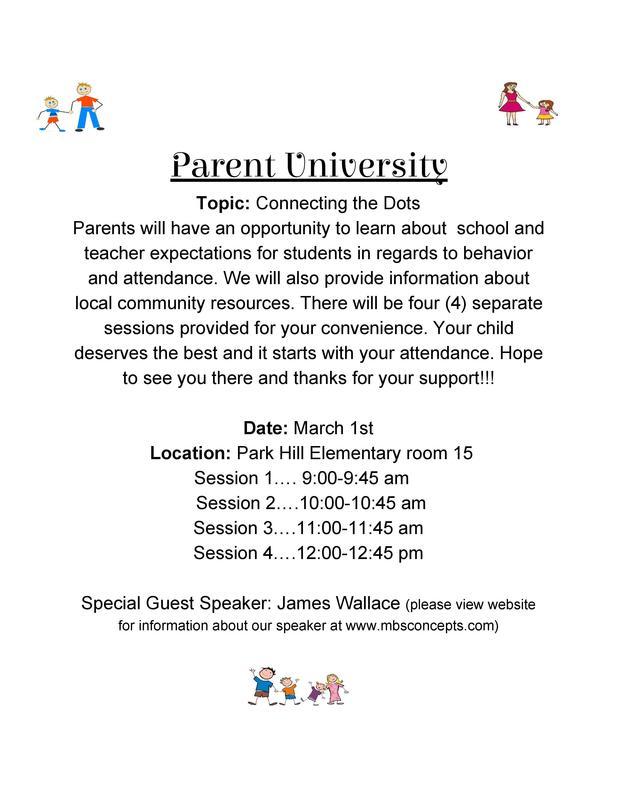 Park Hill Parent University