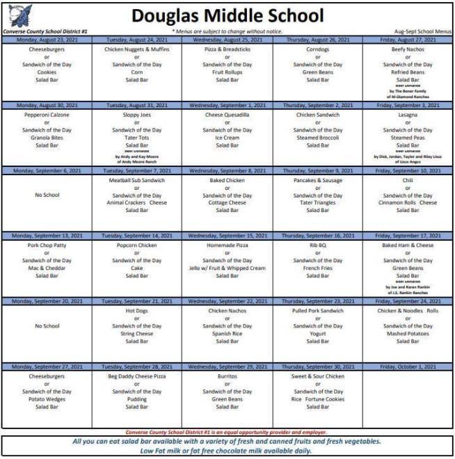 DMS menu screenshot