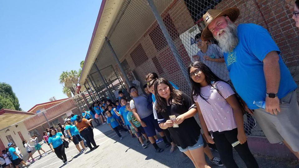 Middle School Shaved Ice Day