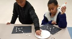 Saturday STEAM school building constellations