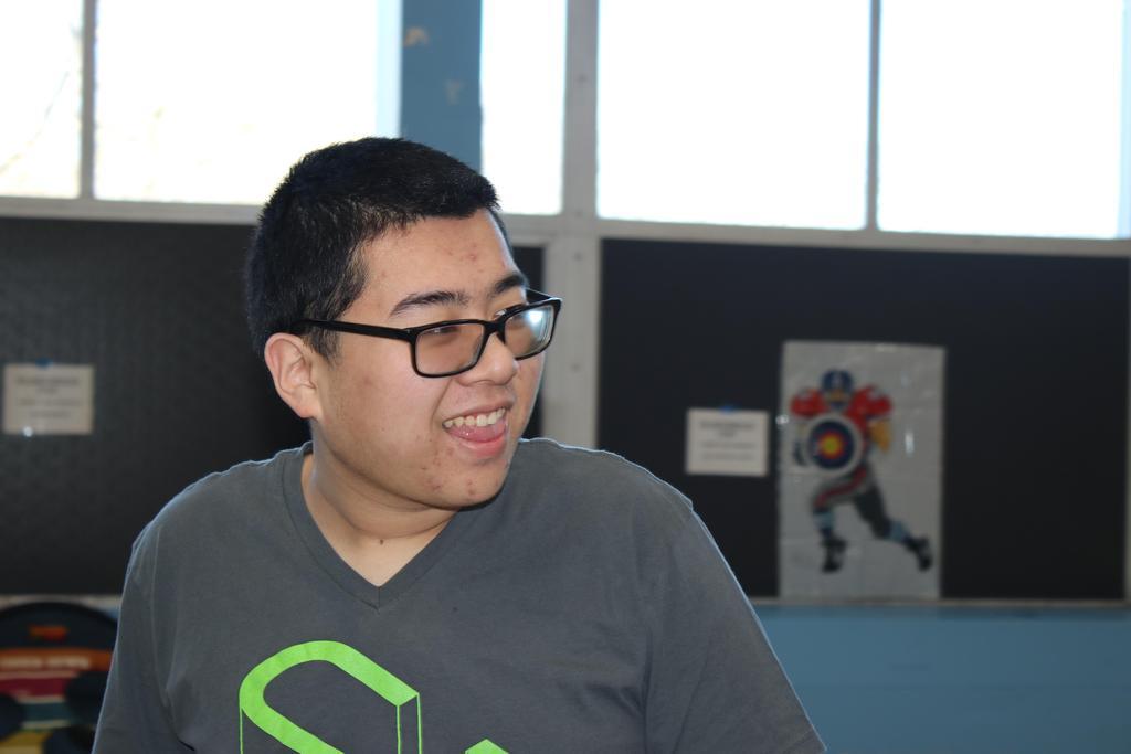 Student(s) enjoying Souperbowl 2020