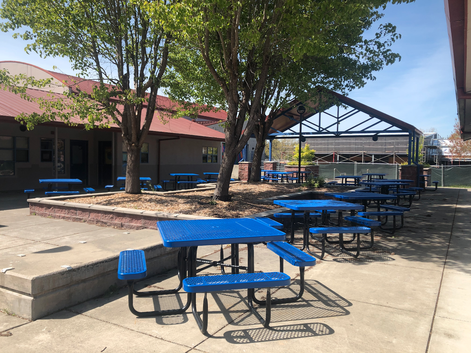 BHS courtyard