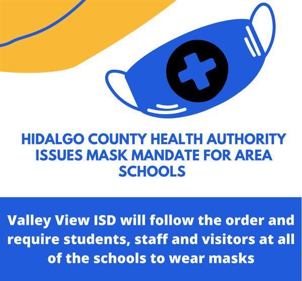HIDALGO COUNTY HEALTH AUTHORITY ISSUES MASK MANDATE! Thumbnail Image