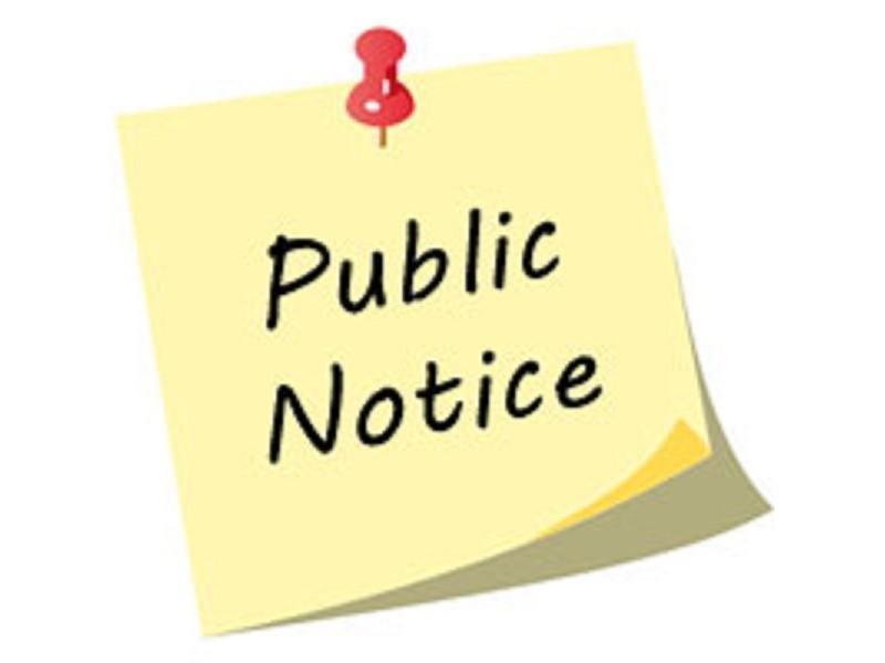 Notice of Public Hearing / Aviso de Audiencia Pública Thumbnail Image