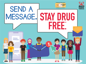 Red Ribbon Week Send a Message Be Drug Free