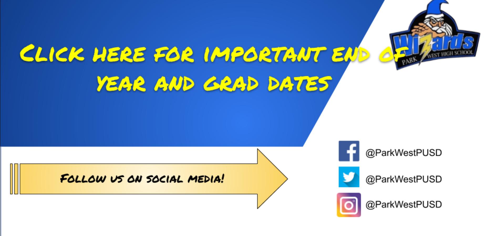 Grad date notification