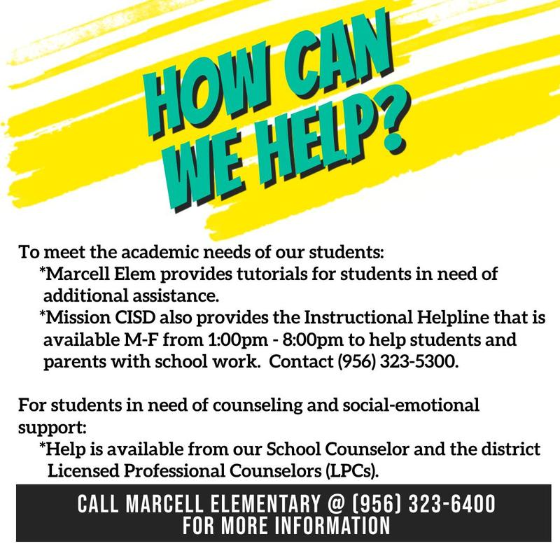 How Can Marcell Elementary Help? Featured Photo