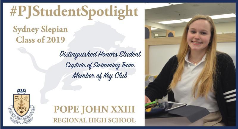Sydney Slepian Student Spotlight